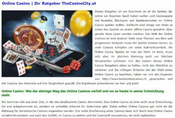 Das große thecasinocity.at Review!